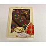 chocolaletter met smarties