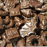 pure Kerst chocolade