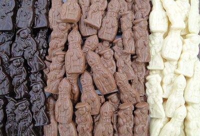 chocolade mini sint en piet