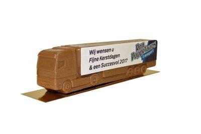 Chocolade vrachtwagen