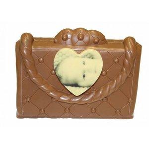 chocolade handtas met foto
