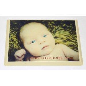 Chocolade foto kaart