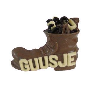 Chocolade Sint schoen met naam
