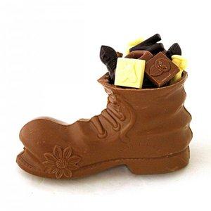 chocolade schoen met sinterklaas chocola